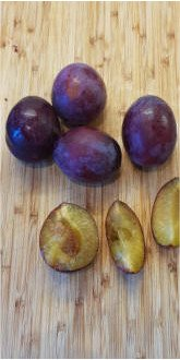 Belle de Louvain Plums