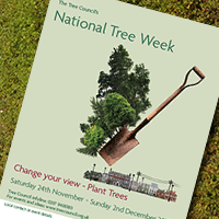 National Tree Week poster